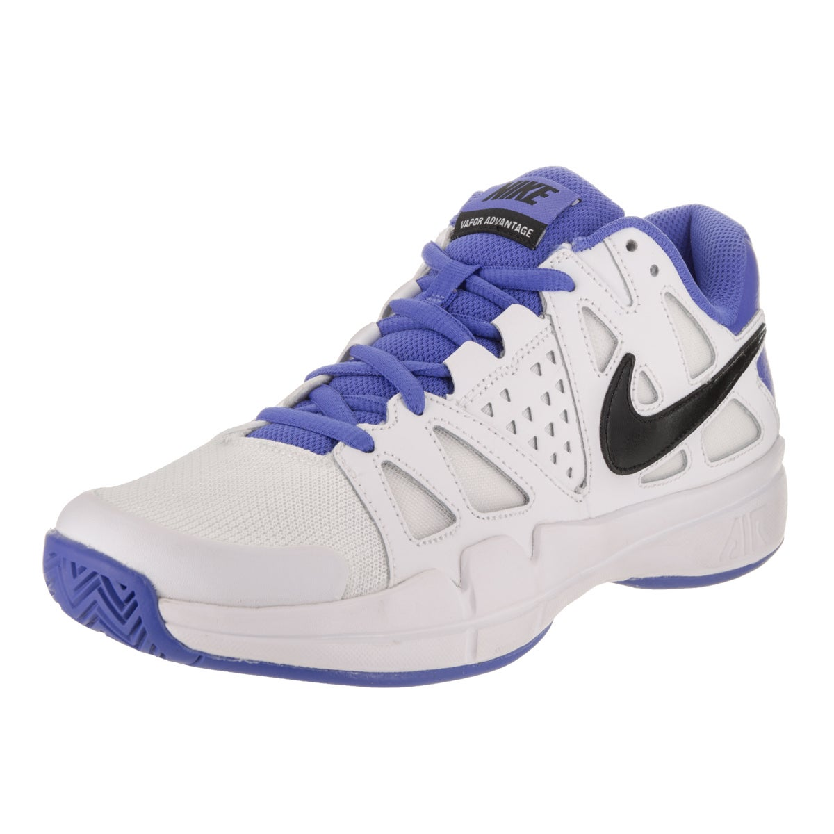 Nike Men's Air Vapor Advantage Tennis Shoe (8), White (Fa...