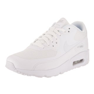 Nike Men's Air Max 90 Ultra 2.0 Essential White Synthetic Leather Running Shoes