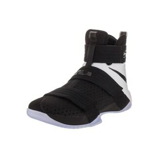Nike Men's Lebron Soldier 10 SFG Black Basketball Shoe