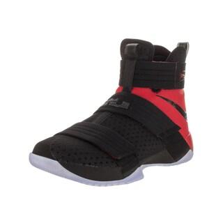 Nike Men's Lebron Soldier Black Basketball Shoe