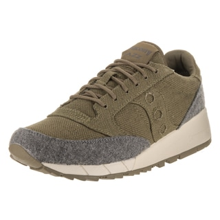 Saucony Men's Jazz 91 Olive Suede Casual Shoes