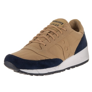 Saucony Men's Jazz 91 Tan Suede Casual Shoe