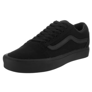 Vans Unisex Old Skool Lite Black Canvas Skate Shoes