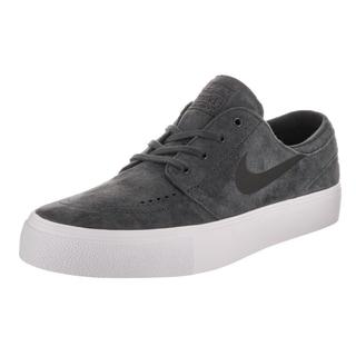 Nike Men's SB Zoom Janoski HT Grey Suede Skate Shoes