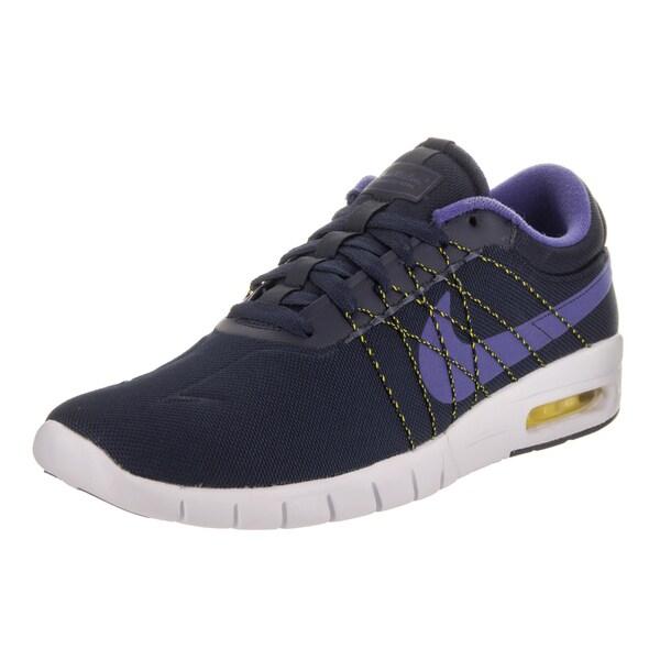 c477ac7dbdd Shop Nike Men s SB Koston Max Blue Skate Shoes - On Sale - Free ...