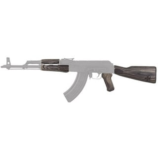 Tapco Timber Smith Romanian AK47 Stock Set Black Laminate