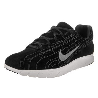 Nike Men's Mayfly Leather Prm Black Suede Casual Shoes