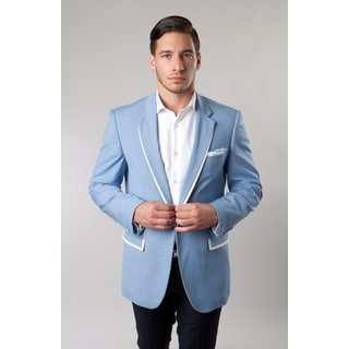 Tazio Men's Baby Blue Blazer
