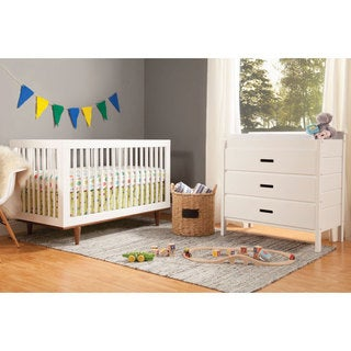 Baby Mod Marley 3 In 1 Convertible Crib