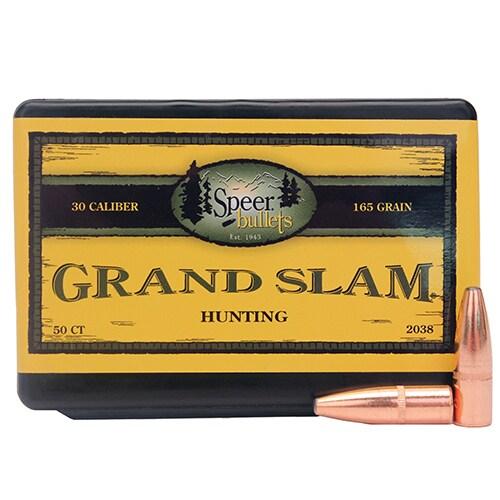 Speer 30 Caliber 165 Gr SP Grand Slam (Per 50)