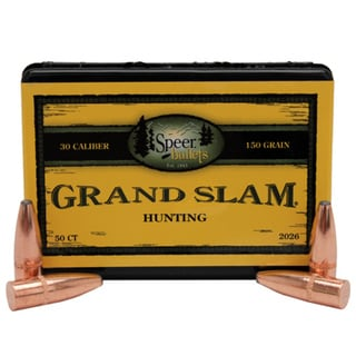 Speer 30 Caliber 150 Gr SP Grand Slam (Per 50)