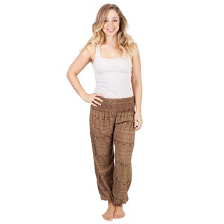 Women's Everyday Baggy Harem Hippie Yoga Pants (2 options available)