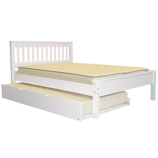 Full Bed White with Trundle