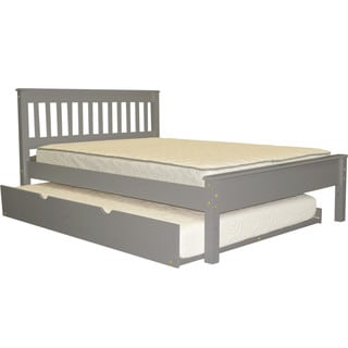 Full Bed Grey With Full Trundle