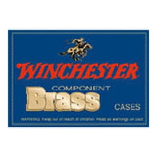 Winchester Ammo Unprimed Brass 25-06 Remington, Per 50