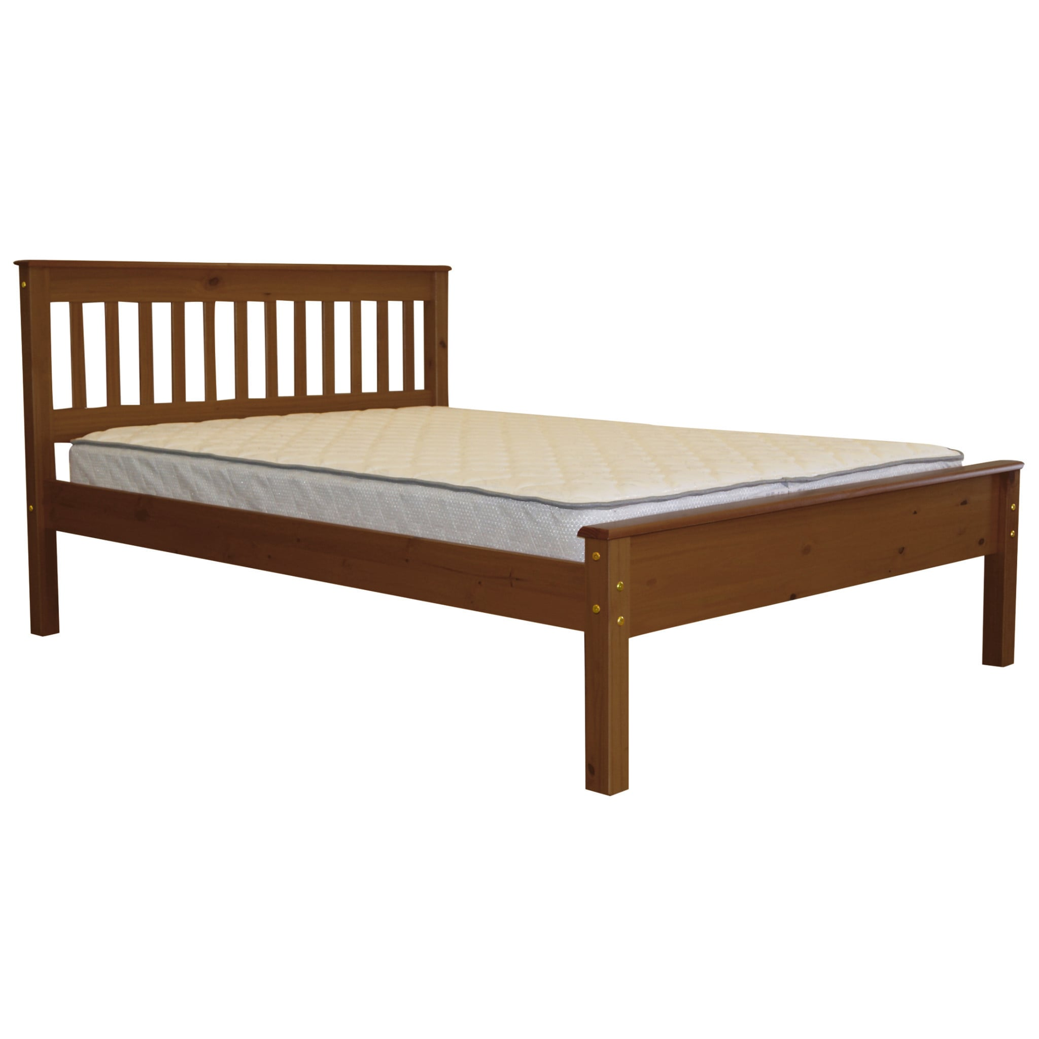 Bedz King Full Bed Expresso (Full - Espresso), Brown