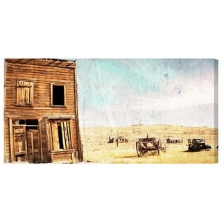 Oliver Gal 'Ranch' Canvas Art