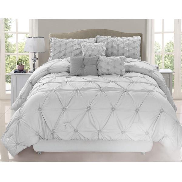 Chateau Grey 7 Piece Comforter Set