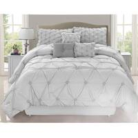 Chateau Grey 7 Piece Comforter Set