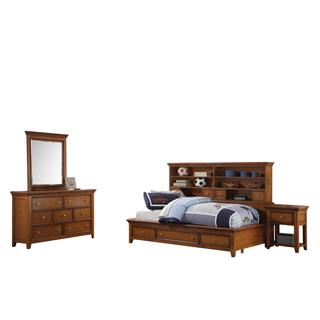 Acme Furniture Lacey Cherry Oak 4-Piece Storage Bedroom Set (2 options available)
