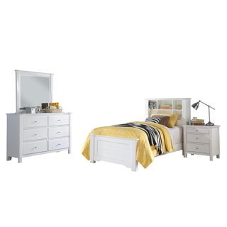 Acme Furniture Mallowsea White 4-Piece Bedroom Set