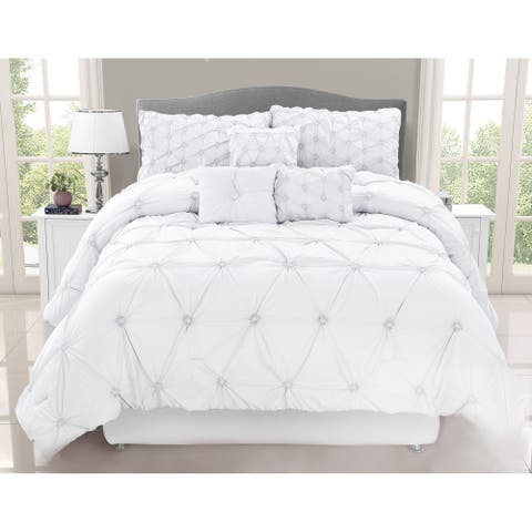 Chateau White 7 Piece Comforter Set
