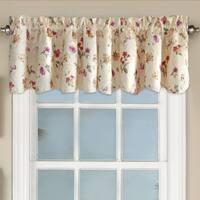 Floral Jacquard Window Curtain Valance