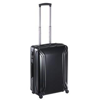Zero Halliburton Air II 22-nch Black Carry-On Hardside 4-Wheel Spinner Suitcase