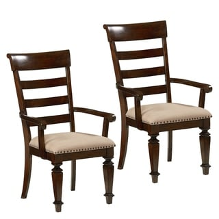 Charleston Upholstered Arm Chairs