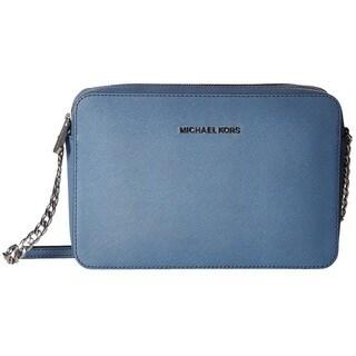 Michael Kors Jet Set Travel Large Denim East/West Crossbody Handbag