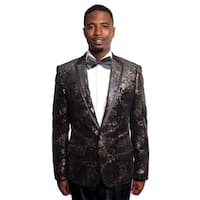 Empire Men's Black/Gold Blazer