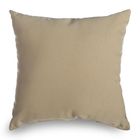 Castaway Wheat Outdoor Throw Pillow