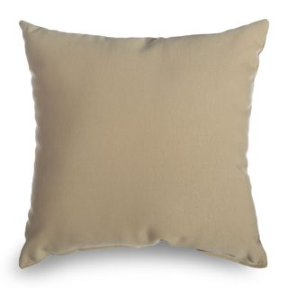 Castaway Wheat Outdoor Throw Pillow