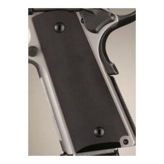 Hogue Colt & 1911 Government Grips Aluminum Matte Black Anodized