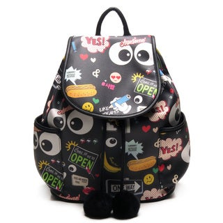 Like Dreams Sa-rang Flapover Fashion Backpack