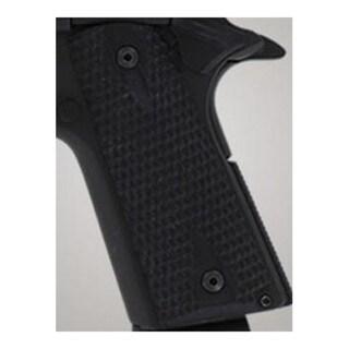 Hogue Colt & 1911 Government Grips Piranha G-10 Solid Black