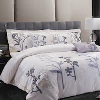 Sandra Venditti - Edita 6pc Embroidered Comforter Set