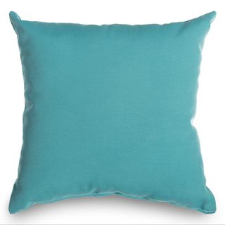 Castaway Aqua Outdoor Throw Pillow
