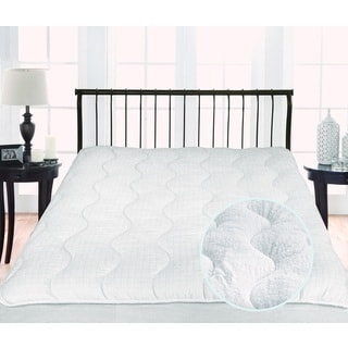 Twice as Nice 300 Thread Count Reversible Mattress Pad