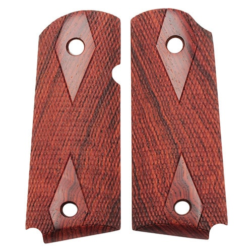 Hogue Colt & 1911 Officer's Grips Coco Bolo Checkered