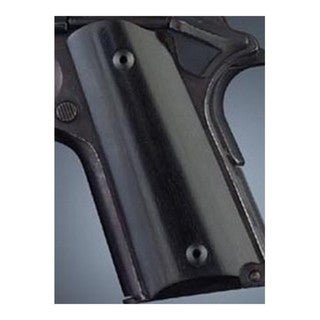 Hogue Colt & 1911 Officer's Grips Ebony