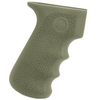 Hogue AK-47 Rubber Grip w/Storage Kit Olive Drab Green