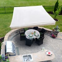 Sol Armor 10 x 10 ft. Floating Gazebo Shade Sail