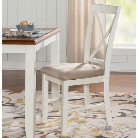 Jane White Cushioned Dining Chair (Set of 2)