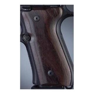 Hogue Beretta 92 Grips Rosewood