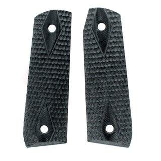 Hogue Ruger 22/45 RP Grip Piranha G-10 Solid Black