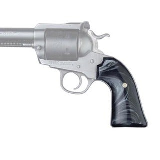 Hogue Ruger Bisley Grip Black Pearlize Cowboy Pan