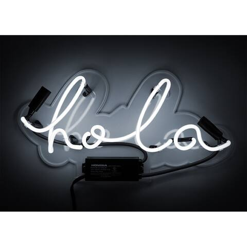 "Oliver Gal ""Hola"" Neon Sign"