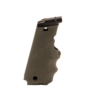 Hogue LE Government Rubber Laser Grip w/Finger Grooves Olive Drab Green