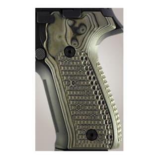Hogue Sig P226 Grips Pirahna G-10 G-Mascus Green